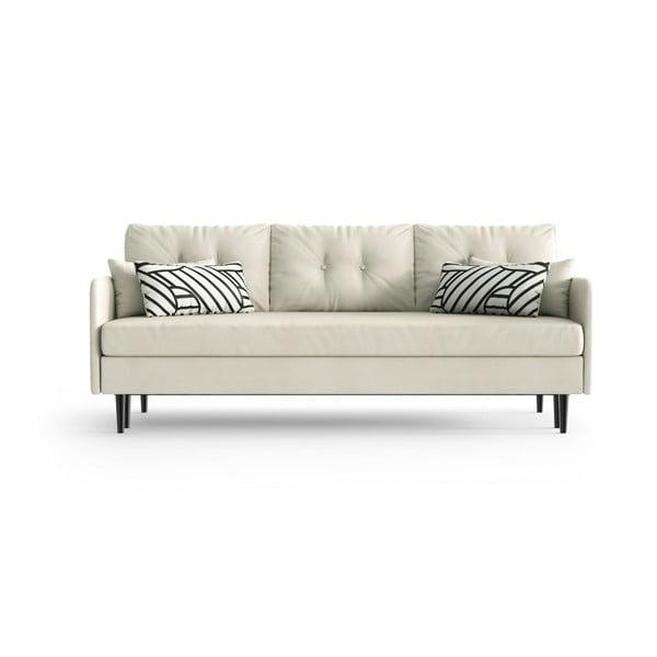 Memphis White fehér háromszemélyes kinyitható kanapé - Daniel Hechter Home