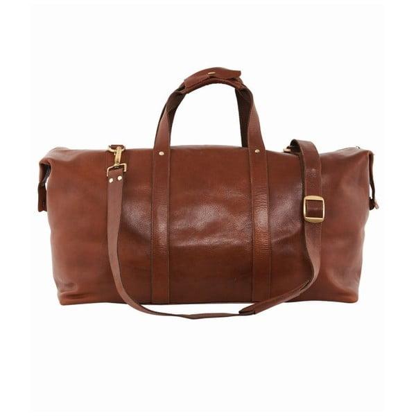Cestovní kožená taška Travel
