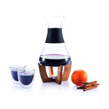 Set pentru vin fiert cu pahare XD Design imagine