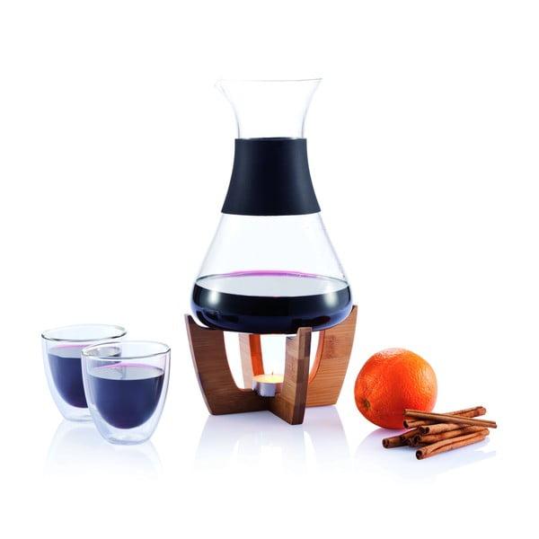 Zestaw do wina grzanego ze szklankami XD Design