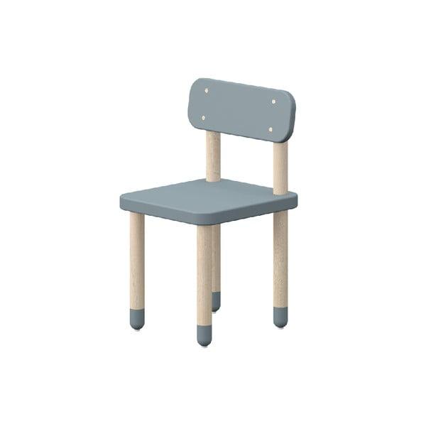 Modrá dětská židle Flexa Play