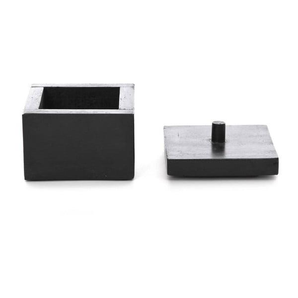 Černá krabička NORR11 Casket Storage