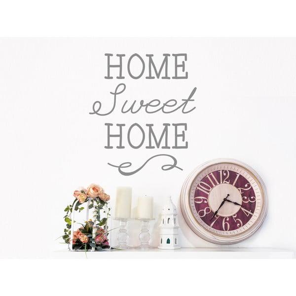 Dekorativní nástěnná samolepka Sweet Home