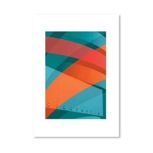 Autorský plakát Guggenheim