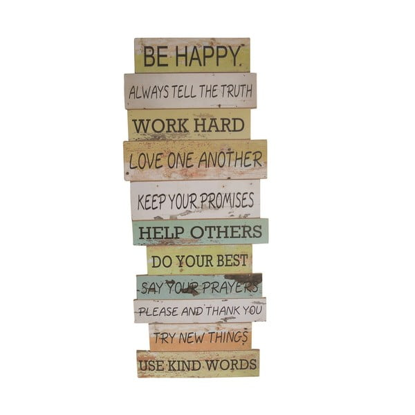 Závěsná cedule Be Happy