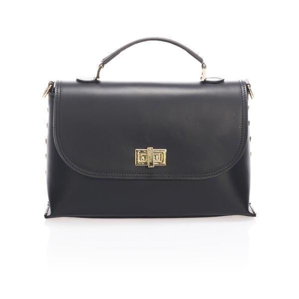 Kožená kabelka Harika, černá