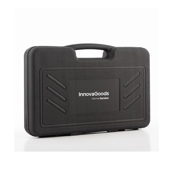 18dielna sada náradia na grilovanie z antikoro ocele v kufríku InnovaGoods Barbecue