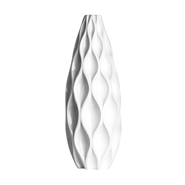 Váza Retro, 60 cm, bílá