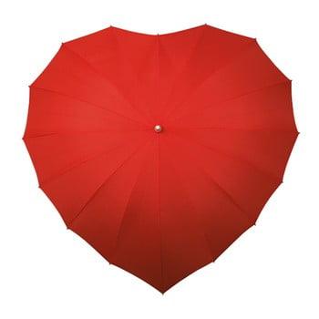 Umbrelă Ambiance Couer Rouge, ⌀ 107 cm de la Ambiance