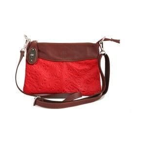 Červená kabelka z pravé kůže GIANRO' Utter