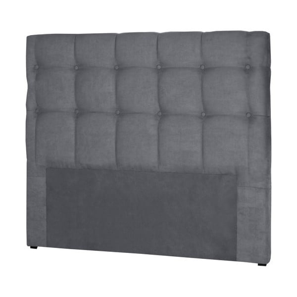 Tăblie pentru pat tella Cadente Maison Planet, 160 x 118 cm, gri