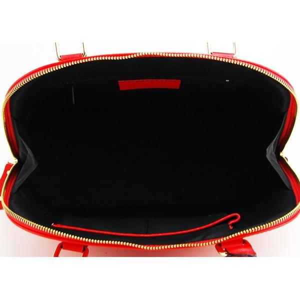 Kožená kabelka Cheesa Rosso