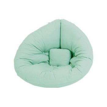 Fotoliu extensibil pentru copii Karup Design Mini Nido Mint imagine