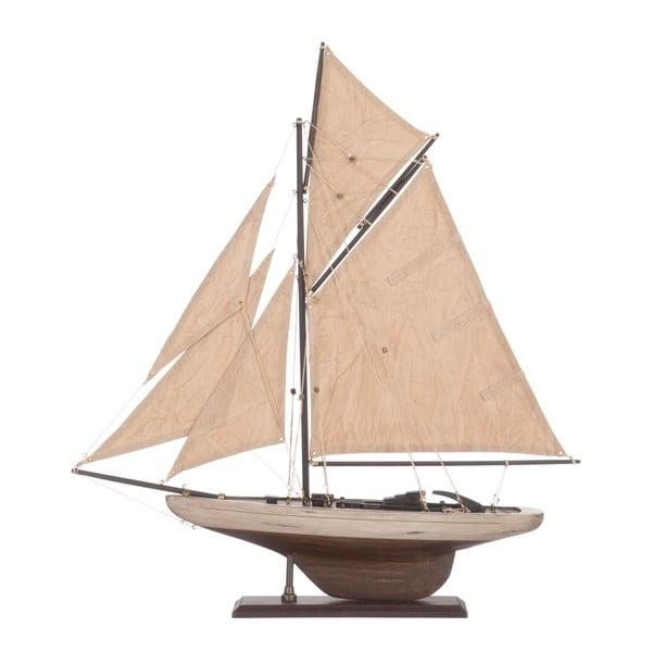 Objekt plachetnice Sail Boat Beige, 55 cm