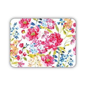 Set 4 suporturi pentru farfurie Cooksmart England Floral Romance