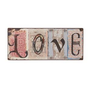 Cedule Love, 31x13 cm