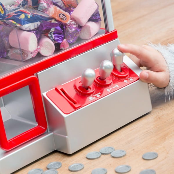 Pouťový automat se zvukem InnovaGoods Fairground Claw Machine