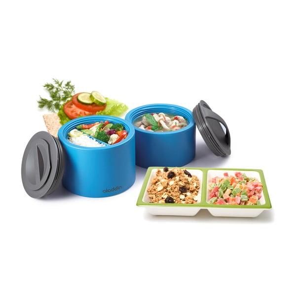 Svačinový termobox Bento 0.95 l, zelený