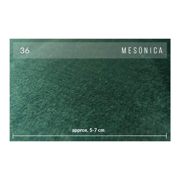 Zelená 2místná pohovka MESONICA Kobo