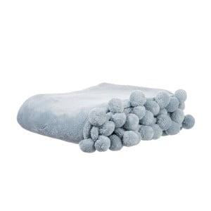 Pléd Pom-Pom Bluer, 127x152 cm