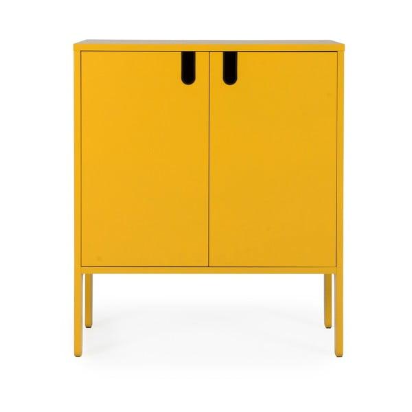 Uno sárga szekrény, szélesség80cm - Tenzo