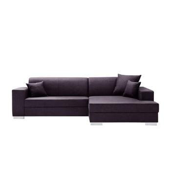 Canapea cu șezlong partea dreaptă Interieur De Famille Paris Perle mov
