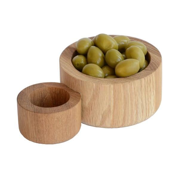 Miska na olivy a pecky
