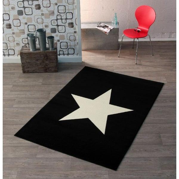 Dětský černý koberec Hanse Home City & Mix, 140x200cm