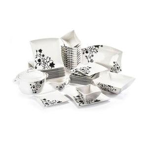 40dílná sada nádobí z porcelánu Duo Gift Porto