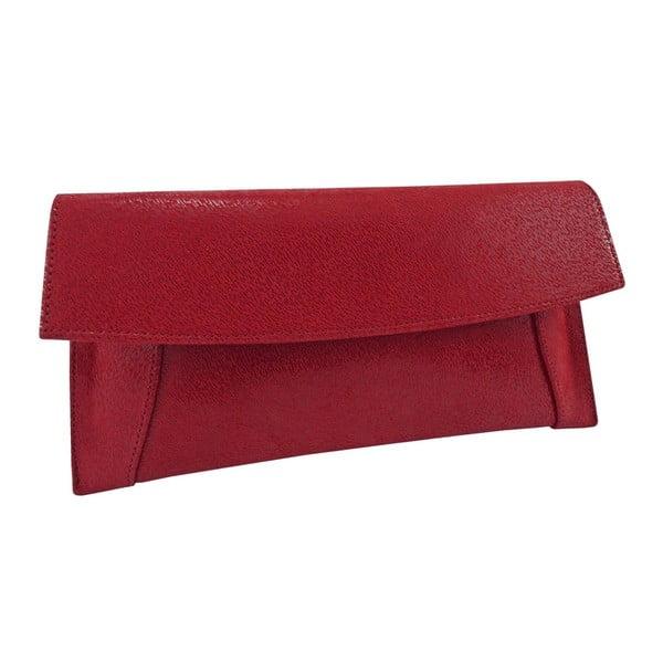 Kožená kabelka/psaníčko Boscollo Red 2963