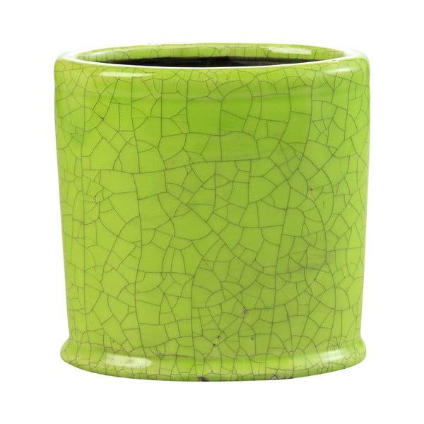 Květináč Binc 18 cm, zelený