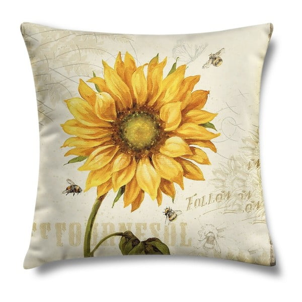Polštář Sunflower Two, 43x43 cm