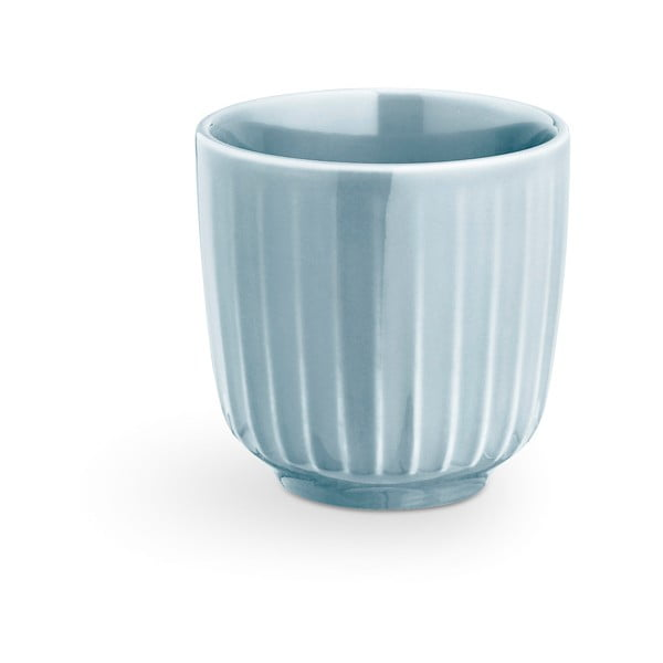 Světle modrý porcelánový hrnek na espresso Kähler Design Hammershoi, 1 dl