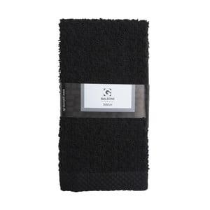 Černá osuška Galzone, 70 x 50 cm