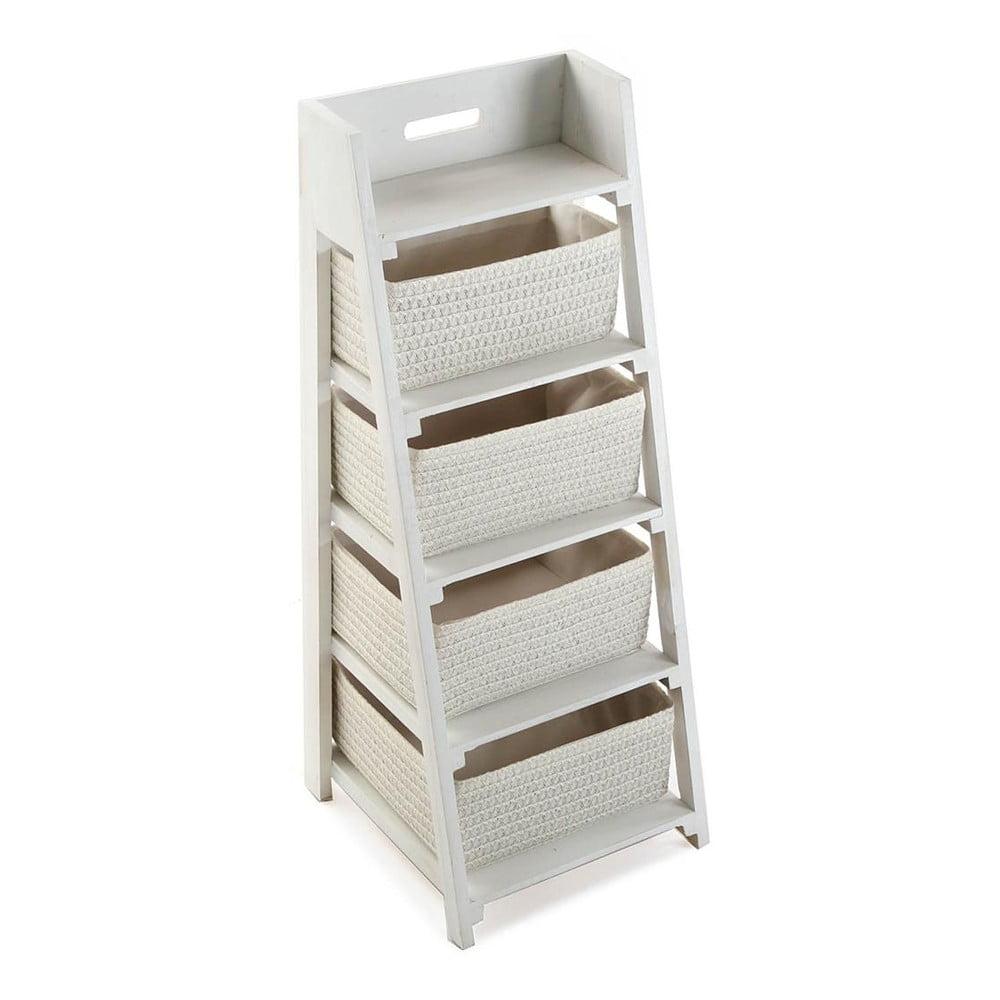 Stojan se čtyřmi košíky Cabinet White