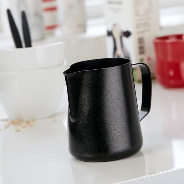 Nerezová mléčenka Steel Function Milk Black, 600 ml