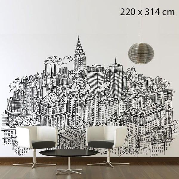 Samolepka New York Chrysler, 314x220 cm