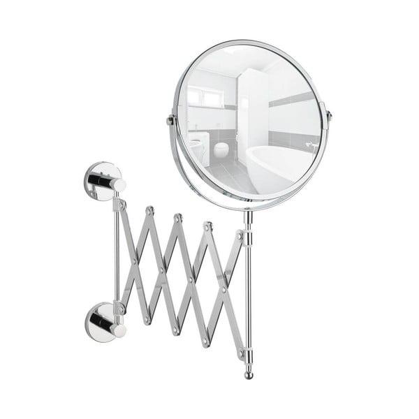 Samodržící vytahovací nástěnné zrcadlo Wenko Power-Loc Elegance