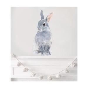 Nástěnná znovu snímatelná samolepka Chocovenyl Bunny