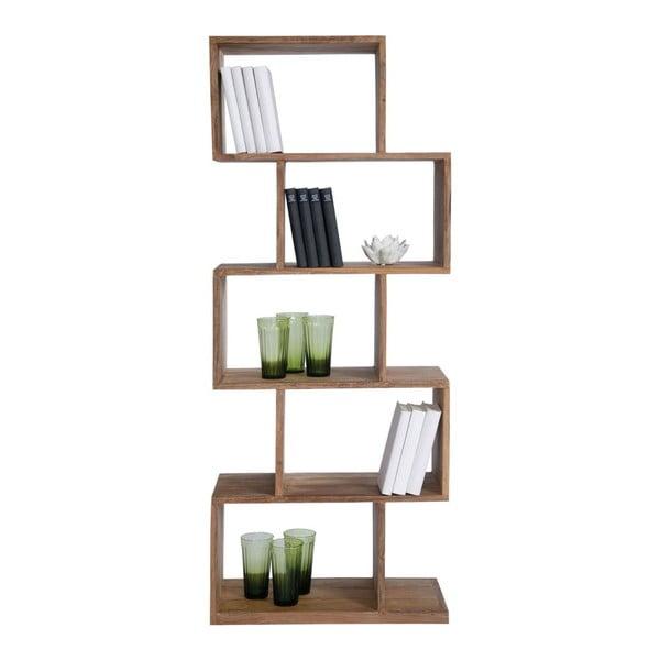 Knihovna ze dřeva sheesham Kare Design Authentico ZickZack