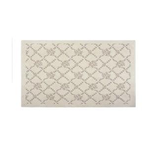 Bavlněný koberec Oni 60x90 cm, krémový
