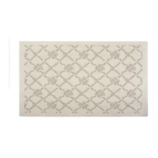 Bavlněný koberec Ima 160x230 cm, krémový