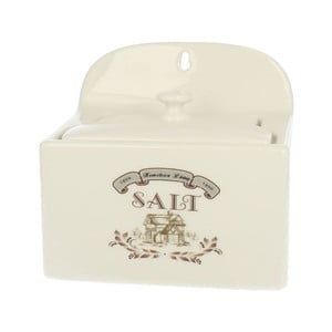 Dóza na sůl Vintage, 18x9 cm