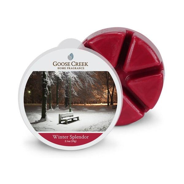 Vonný vosk do aromalampy Goose Creek Krásy Zimy, 65 hodin hoření