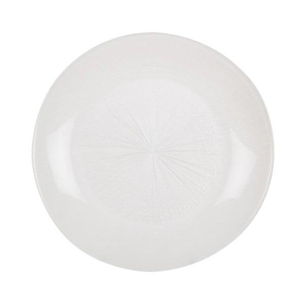 Sada 18 ks keramických talířů Milano Blue/White