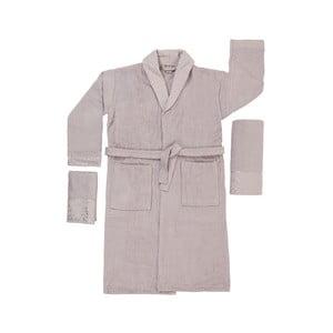 Set 2 ručníků a unisex županu z čisté bavlny Kimmy, vel. M/L