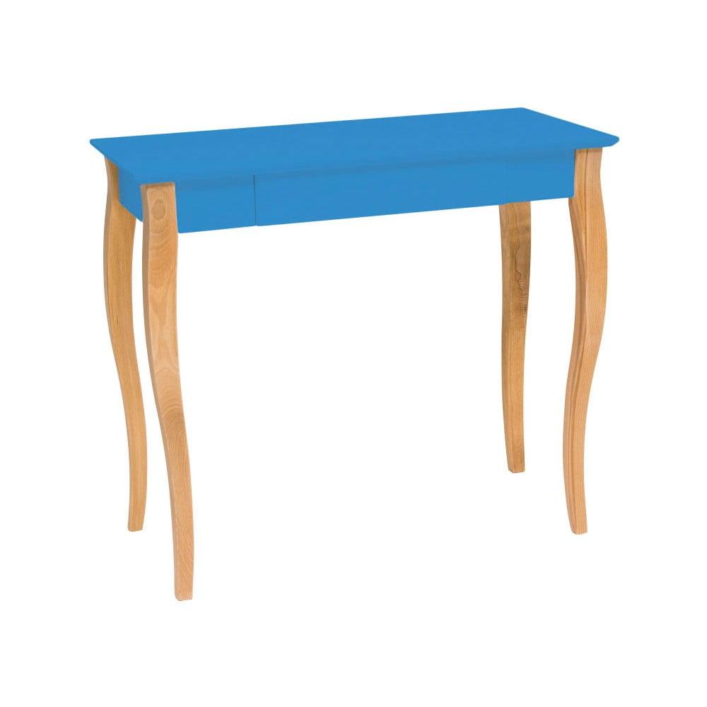 Modrý psací stůl Ragaba Lillo, šířka 85 cm