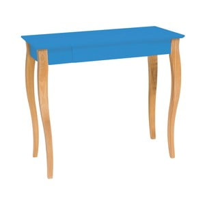 Modrý psací stůl Ragaba Lillo, šířka85cm