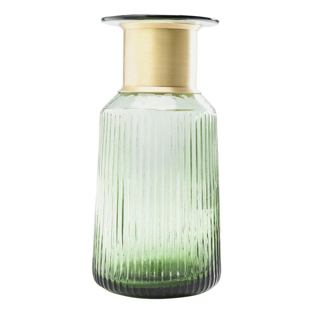 Světle zelená váza Kare Design Barfly Green, 30 cm