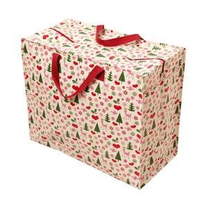 Velká retro nákupní taška Rex London Christmas